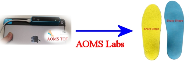 Sharp Shape AOMS Participating Labs that may take images from the iPad Structure Sensor foot scanner
