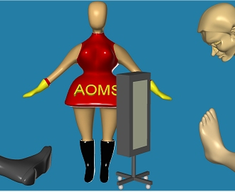 Sharp Shape Foot Scanner AOMS System and customer